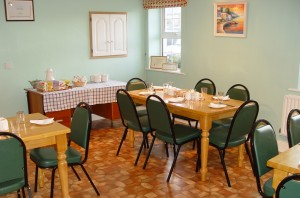An Stór dining room